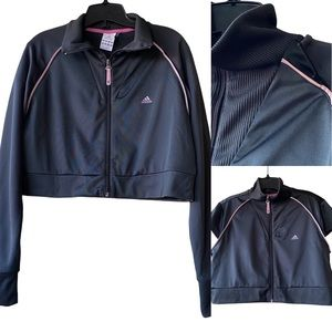 ADIDAS Y2K Cropped Convertible Track Jacket
